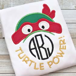 Turtle Power Applique