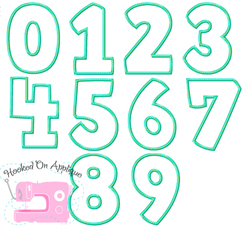 Universal Numbers Applique