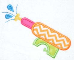 Watergun Applique